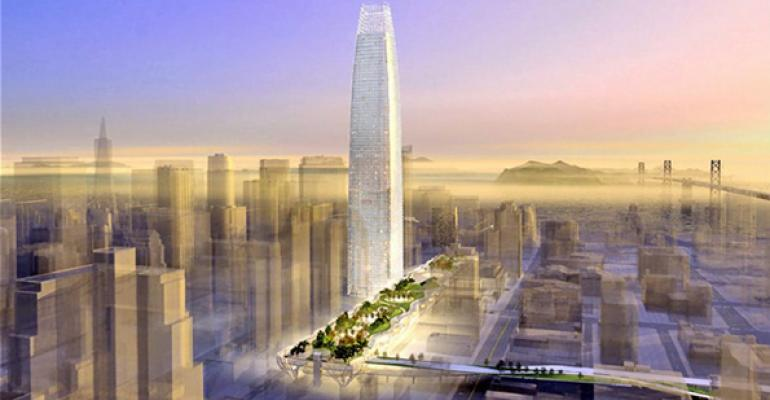 The proposed Transbay Tower
