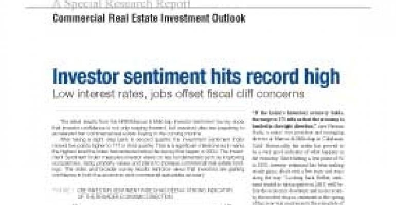 Updated Commercial Real Estate Investment Outlook