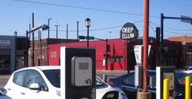 Commercial Properties Lead the Charge for EV Stations