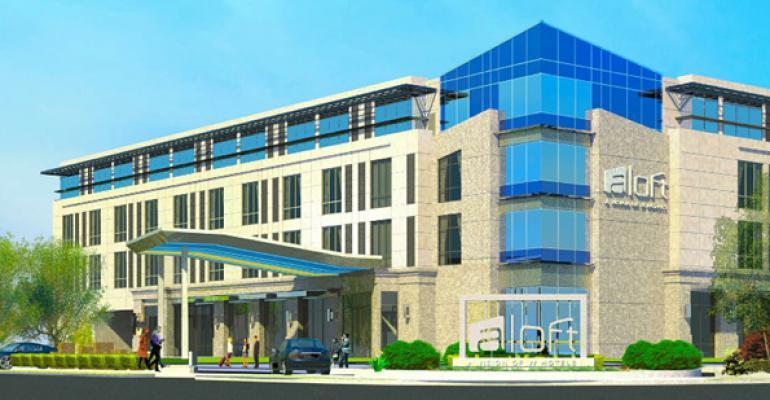 Aloft Hotel Opens Adjacent to Apple HQ