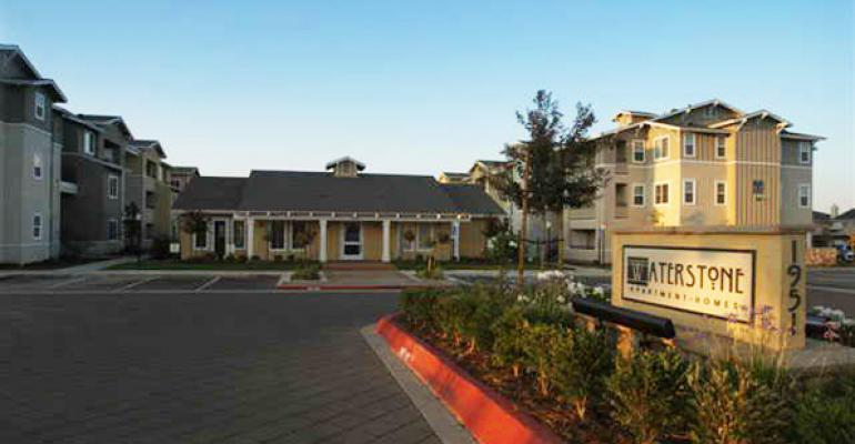 Apartment Complex in Tracy Brings $25.25M