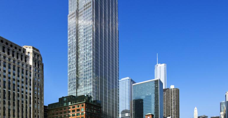 300 North LaSalle, Chicago, Goes From LEED Gold to Platinum