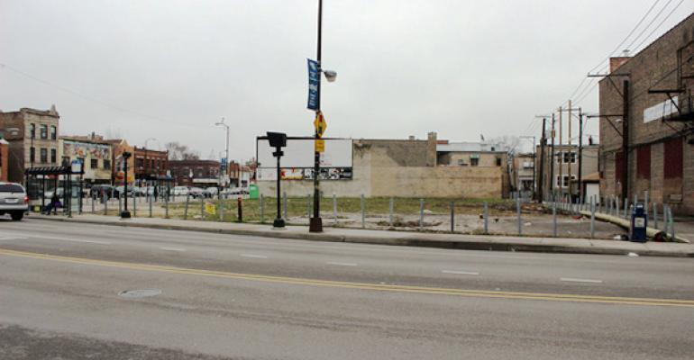 The longvacant southeast corner of North Avenue and Pulaski Road