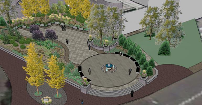 Alfred and Mary Sanzari Public Garden Dedicated in Hackensack