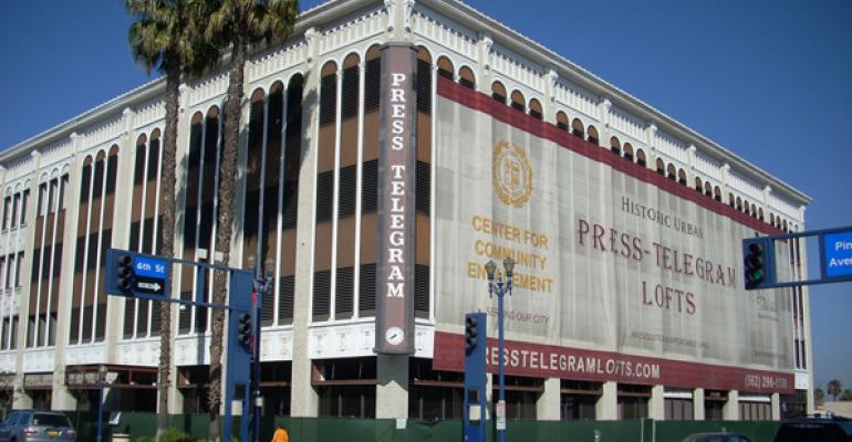 Adaptive Reuse Project Completed for Long Beach Press-Telegram Building
