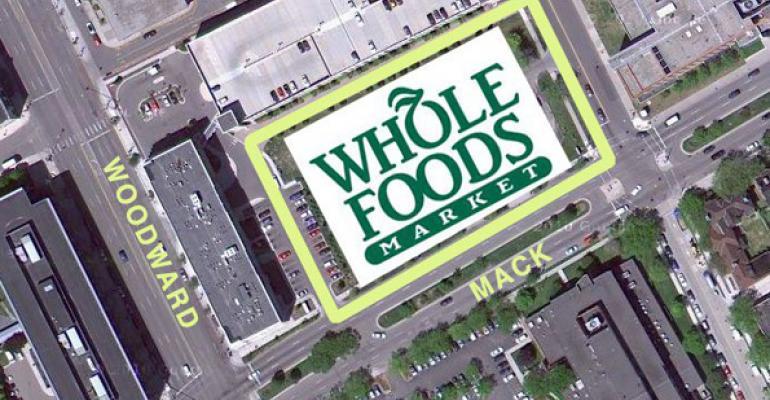 Details on Whole Foods' Detroit Store