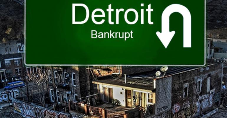 Detroit Bankruptcy Reinforces Stringent Investor Underwriting Practices