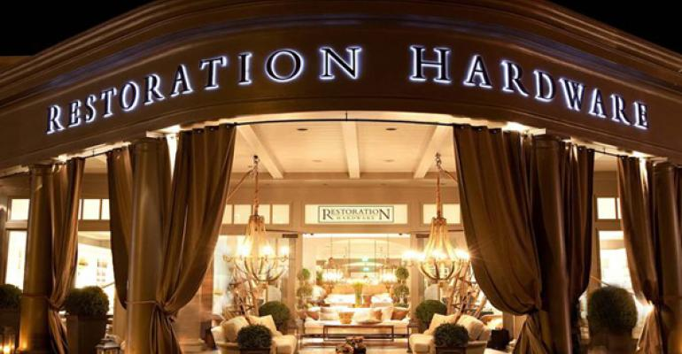 Restoration Hardware to Sell Apparel, Shoes, Accessories