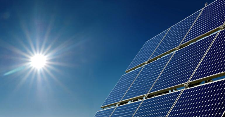 Falling Particles Capture Solar Energy