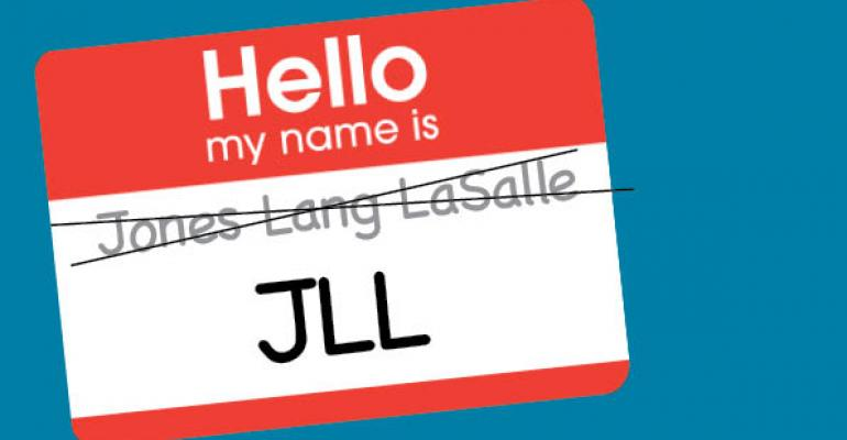 JLL Name Change Keeps it Simple