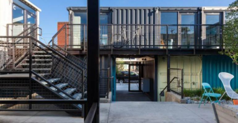 Shipping Containers Are 'Green' Moneymakers for Commercial Development