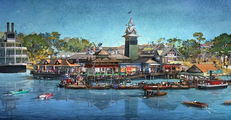 Rainforest Cafe Creator Opens The Boathouse at Disney