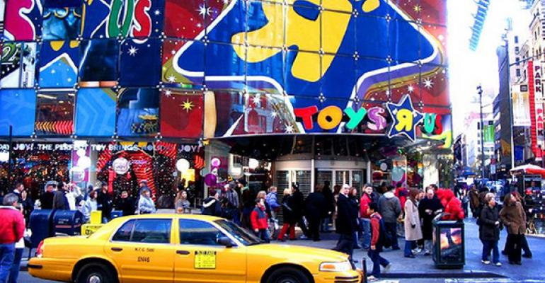 "Toys""R""Us Shifts Bricks-and-Mortar Strategy"