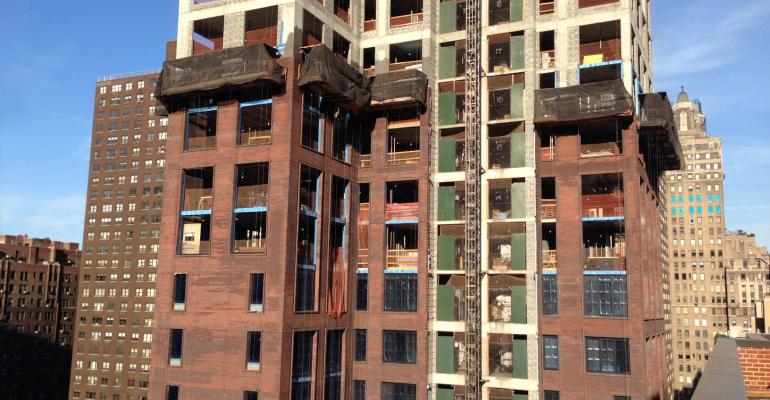 Construction Lenders All-In for Apartments