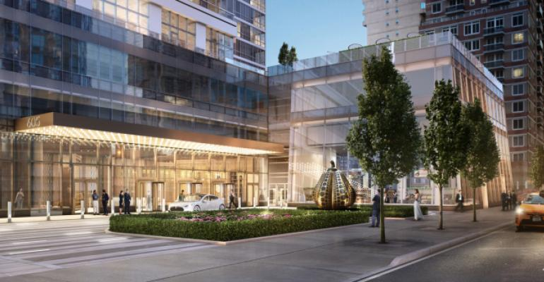 SL Green Buys a 20% Stake in Manhattan's Sky Apartment Tower
