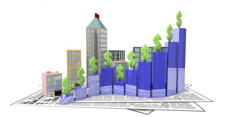 real estate prices up