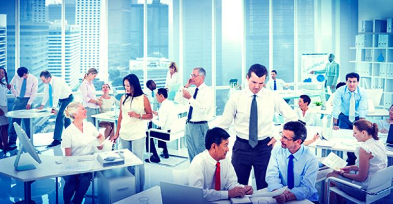 office space demand rises