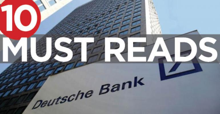 10 Must Reads for the CRE Industry Today (September 20, 2016)