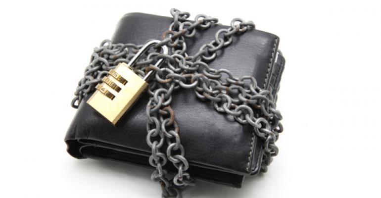 locked wallet