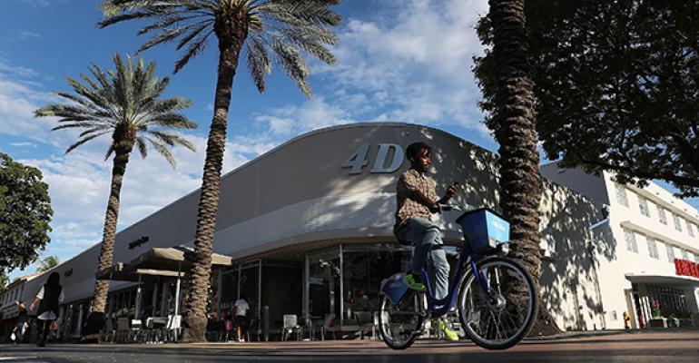 Miami retail Lincoln Road