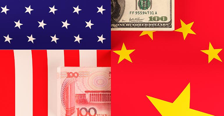 Chinese American currency