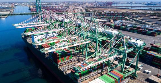 The Top Busiest U.S. Seaports in 2020