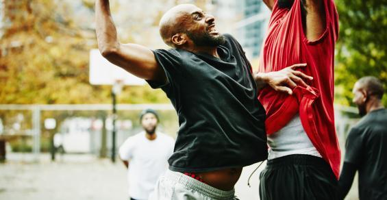 defensive play basketball