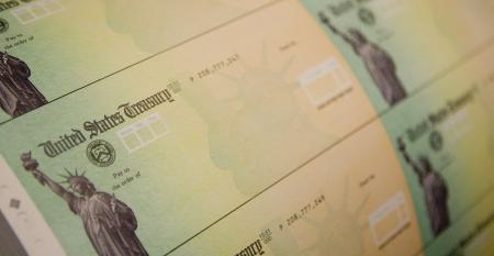 Economic stimulus checks are prepared