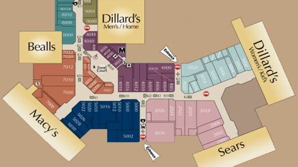 Post Oak Mall Map Awesome Post Oak Mall Map Images   Printable Map   New  Post Oak Mall Map