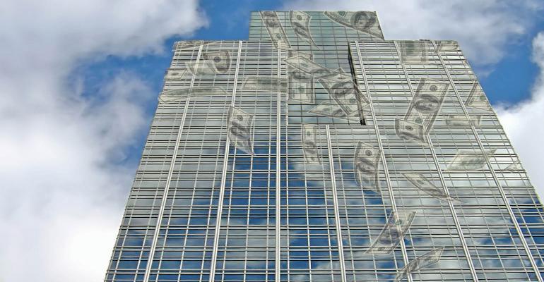REIT-money-floating