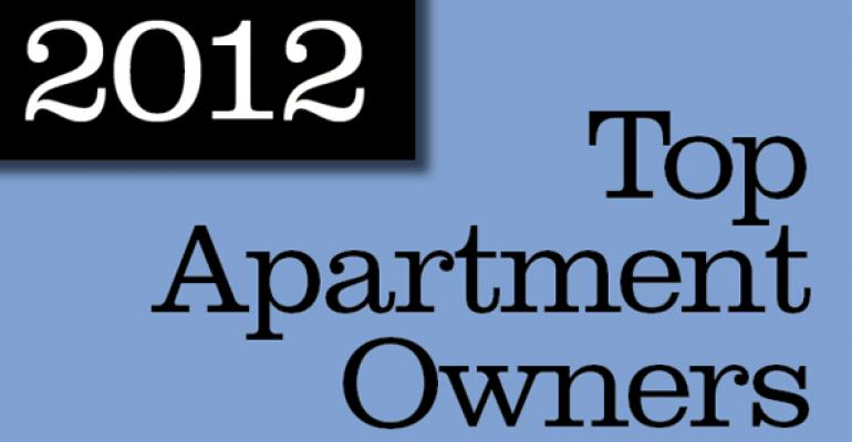 2012 Top Apartment Owners