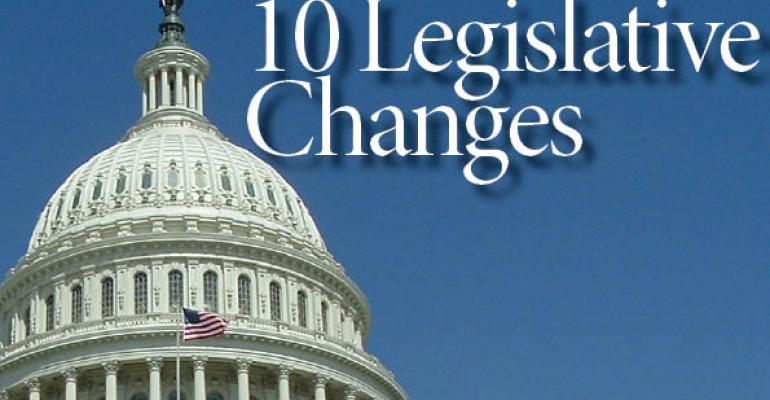 10 Pieces of Legislation That Could Impact Commercial Real Estate
