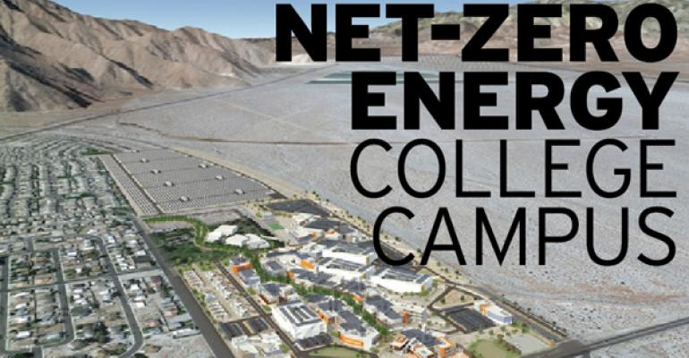 """""""Net Zero-Plus"""" Campus to Be National Model for Sustainability Strategies"""