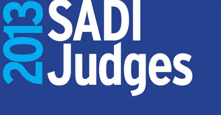 Meet the 2013 SADI Judges