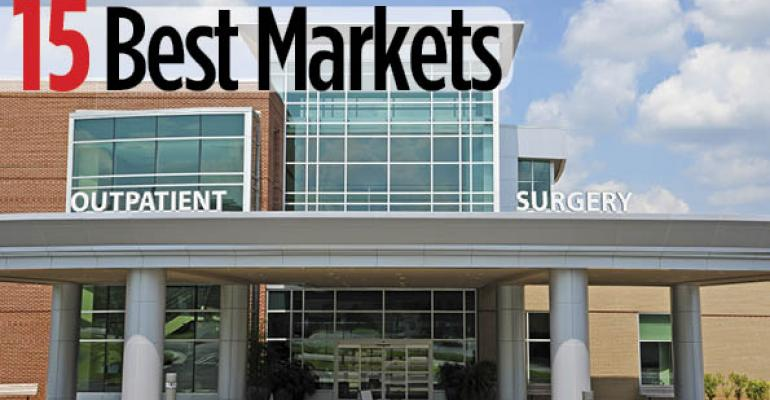 15 Best Markets for Investment in Healthcare Properties