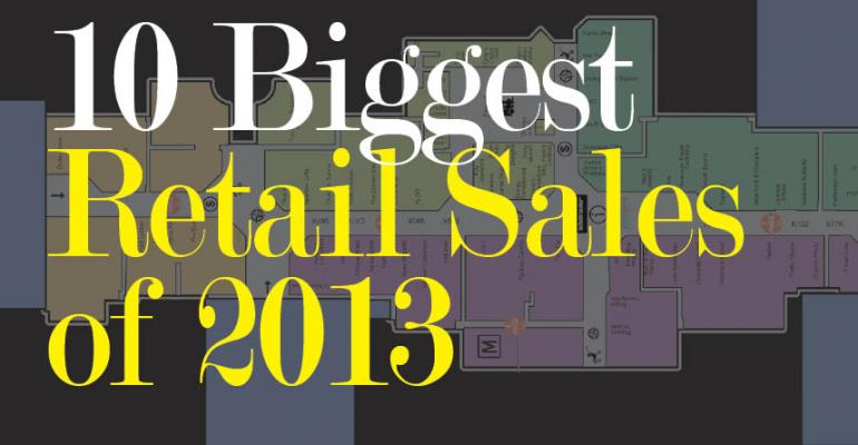 10 Biggest Retail Sales of 2013 (So Far)