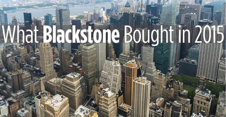 16 Real Estate Acquisitions Blackstone Made in 2015
