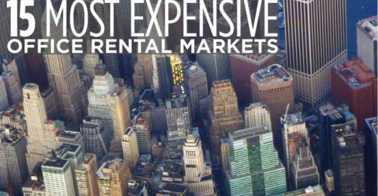 15 U.S. Markets with Highest Office Occupancy Costs