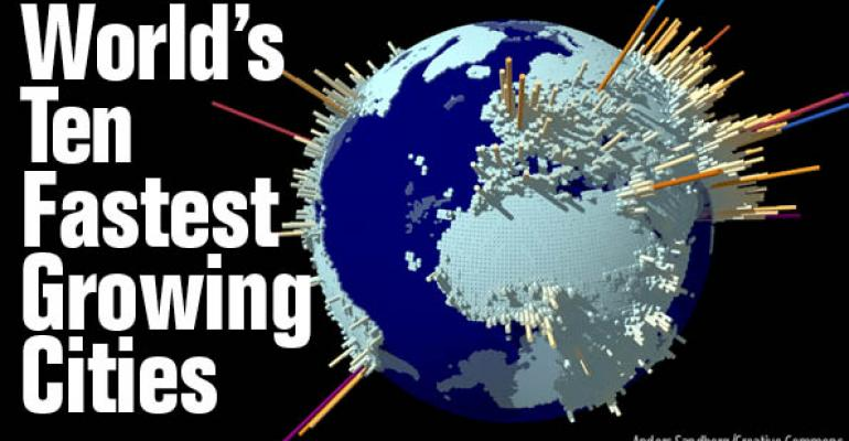 World's 10 Fastest Growing Cities