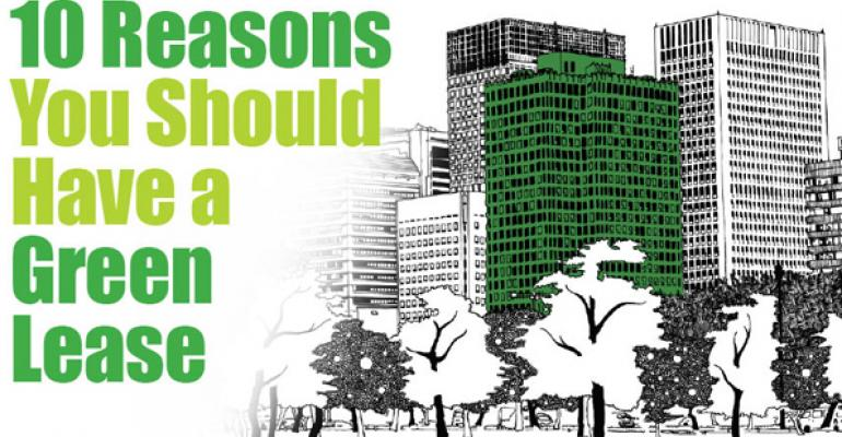 10 Reasons You Should Have a Green Lease