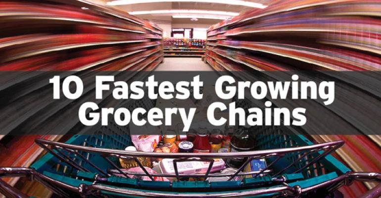 10 Fastest Growing Grocery Chains