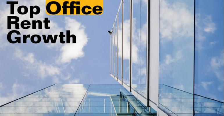 Five Office Markets with High Rent Growth