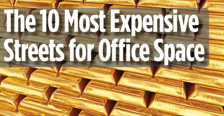 10 Most Expensive Streets for Office Space in the U.S.