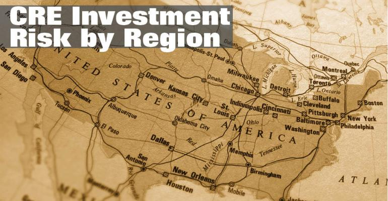 CRE Investment Risk by Region