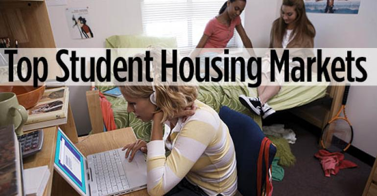 Top 10 Markets for Student Housing