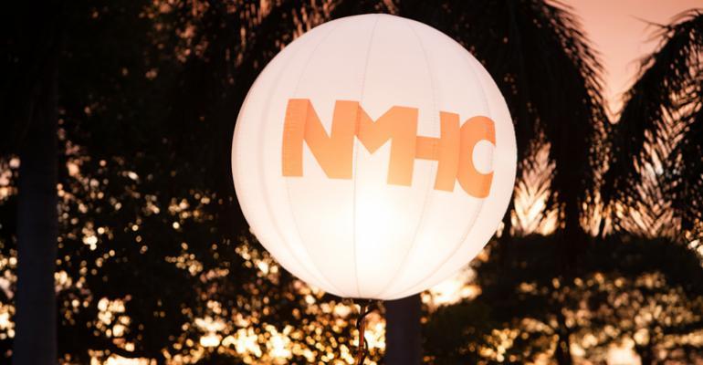 NMHC Logo Balloon