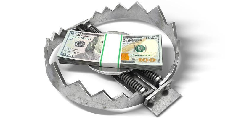 money in trap