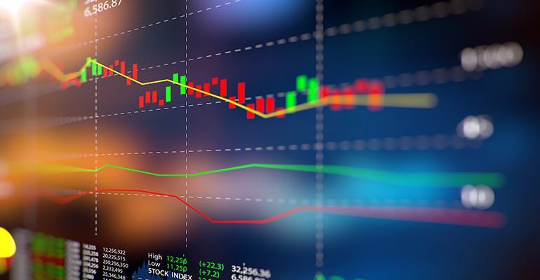 stock prices flat