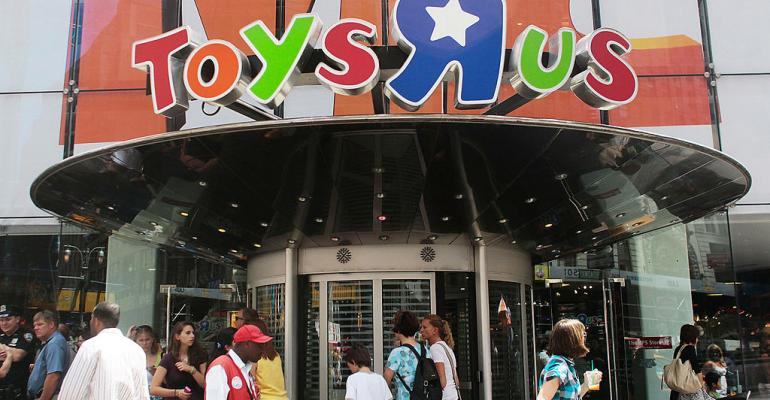 Toys 'R' Us restructuring debt