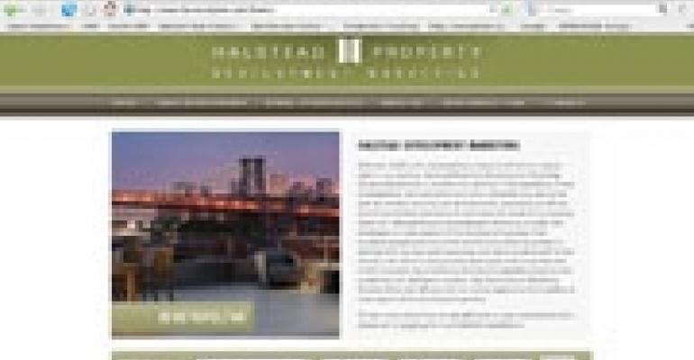Halstead Launches Real Estate Development Web Site